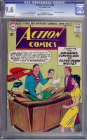 Action Comics #302 CGC 9.6 ow/w