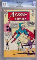 Action Comics #321 CGC 9.4 ow Savannah