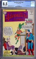 Adventure Comics #260 CGC 8.5 cr/ow