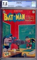 Batman #61 CGC 7.5 ow/w