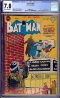 Batman #64 CGC 7.0 ow/w