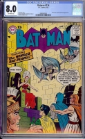 Batman #116 CGC 8.0 ow