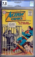 Action Comics #218 CGC 7.5 ow/w