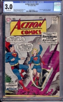 Action Comics #252 CGC 3.0 ow