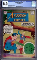 Action Comics #262 CGC 8.0 ow