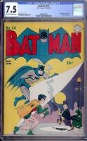 Batman #14 CGC 7.5 ow/w