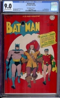 "Batman #32 CGC 9.0 cr/ow Davis Crippen (""D"" Copy)"