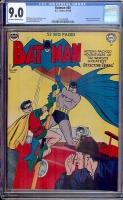Batman #60 CGC 9.0 ow/w