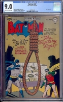 Batman #67 CGC 9.0 cr/ow