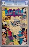 Batman #116 CGC 7.5 ow