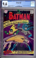 Batman #188 CGC 9.6 w