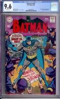 Batman #201 CGC 9.6 ow