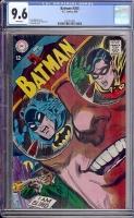 Batman #205 CGC 9.6 w