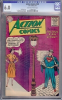 Action Comics #202 CGC 6.0 cr/ow