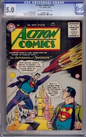 Action Comics #215 CGC 5.0 cr/ow
