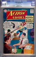 Action Comics #250 CGC 6.0 cr/ow