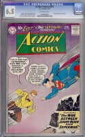 Action Comics #253 CGC 6.5 ow