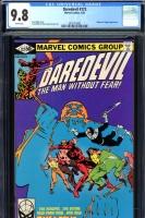 Daredevil #172 CGC 9.8 w