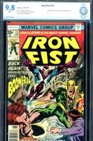 Iron Fist #13 CBCS 9.8 w