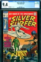 Silver Surfer #10 CGC 9.4 ow