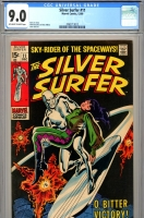 Silver Surfer #11 CGC 9.0 ow/w