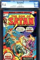 Son of Satan #1 CGC 9.6 w