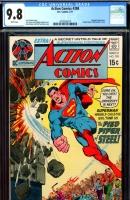 Action Comics #398 CGC 9.8 w