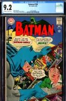Batman #199 CGC 9.2 ow/w