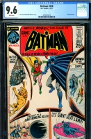 Batman #228 CGC 9.6 w