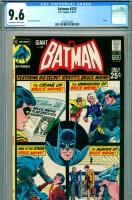 Batman #233 CGC 9.6 ow/w