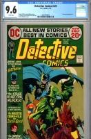 Detective Comics #425 CGC 9.6 w
