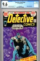 Detective Comics #436 CGC 9.6 ow/w