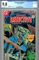 Detective Comics #477 CGC 9.8 w