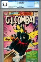 G.I. Combat #114 CGC 8.5 ow