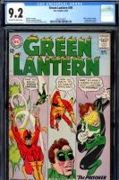 Green Lantern #35 CGC 9.2 ow/w