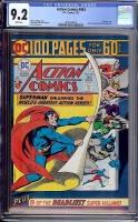 Action Comics #443 CGC 9.2 w