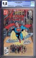 Action Comics #583 CGC 9.8 w