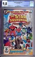 All-Star Squadron #25 CGC 9.8 w Davie Collection