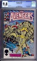 Avengers #257 CGC 9.8 w Davie Collection