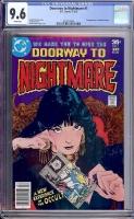 Doorway to Nightmare #1 CGC 9.6 w