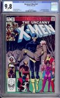 Uncanny X-Men #167 CGC 9.8 w