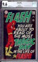 Flash #184 CGC 9.6 cr/ow Savannah
