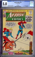 Action Comics #277 CGC 5.0 ow/w Twin Cities