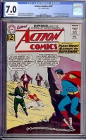 Action Comics #287 CGC 7.0 ow