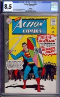 Action Comics #329 CGC 8.5 w Bethlehem