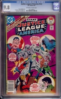 Justice League of America #142 CGC 9.8 ow/w