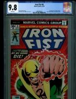 Iron Fist #8 CGC 9.8 w