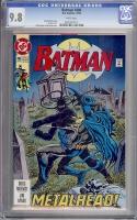 Batman #486 CGC 9.8 w