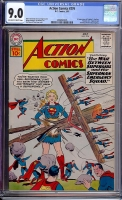 Action Comics #276 CGC 9.0 ow/w