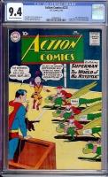 Action Comics #273 CGC 9.4 ow/w